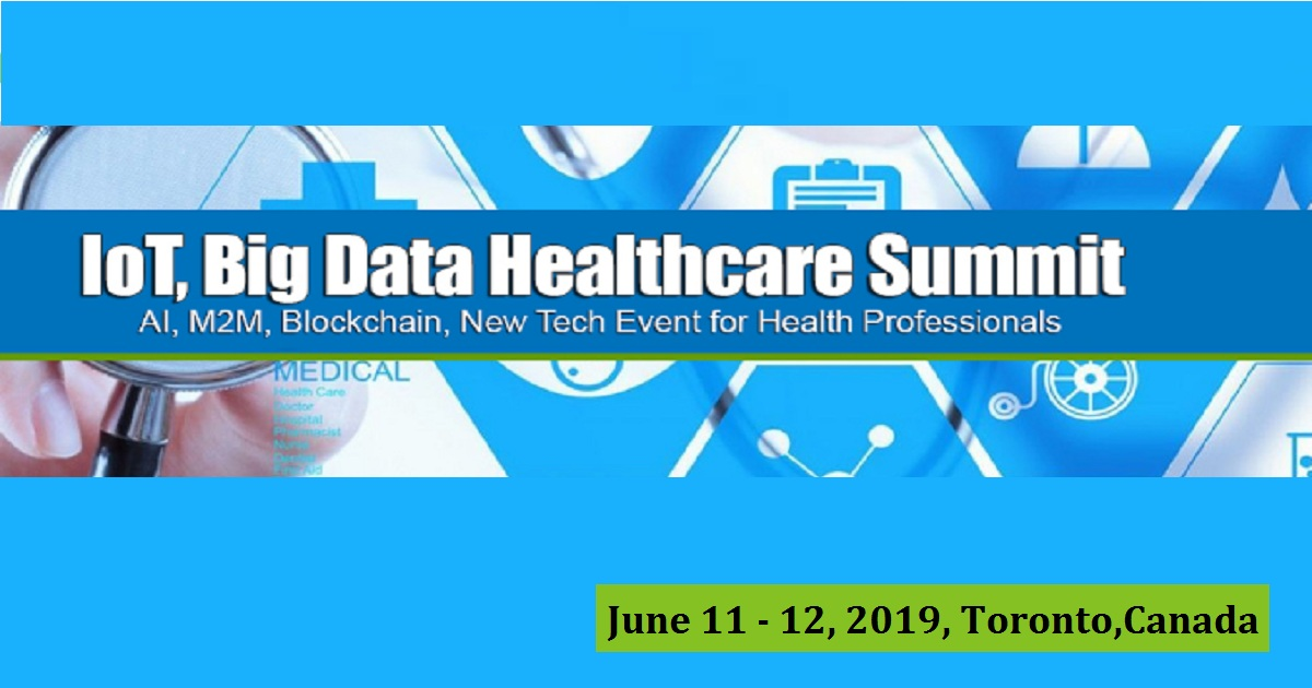 4TH ANNUAL IOT, BIG DATA HEALTHCARE SUMMIT