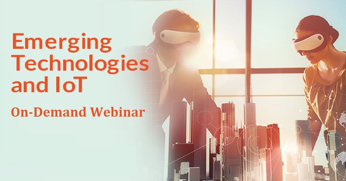 Emerging Technologies and IoT