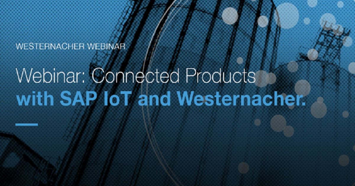Connected Products with SAP IoT