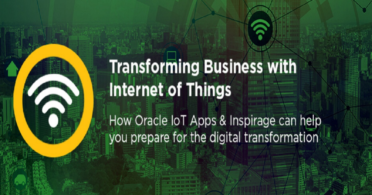 Transforming Business with Internet of Things