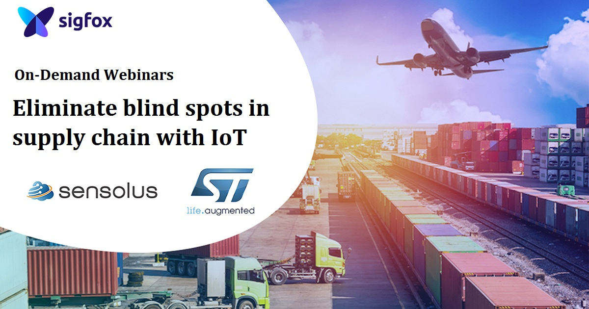 Eliminate blind spots in supply chain with IoT