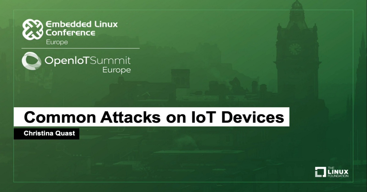 Common Attacks on IoT Devices
