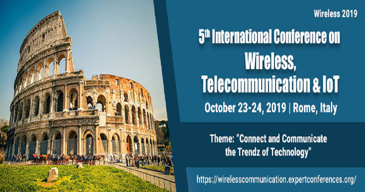5th International Conference on Wireless,Telecommunication & IoT