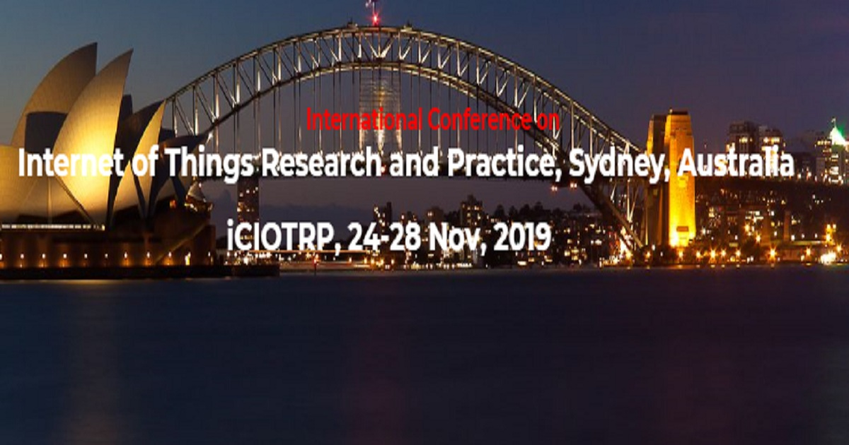 International Conference on Internet of Things Research and Practice (iCIOTRP)