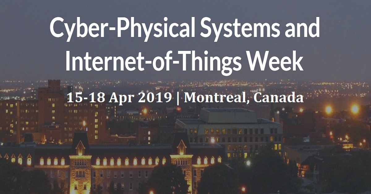 Cyber-Physical Systems and Internet-of-Things Week