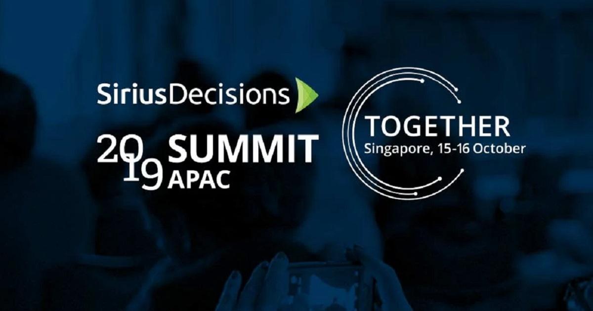 SiriusDecisions Summit APAC
