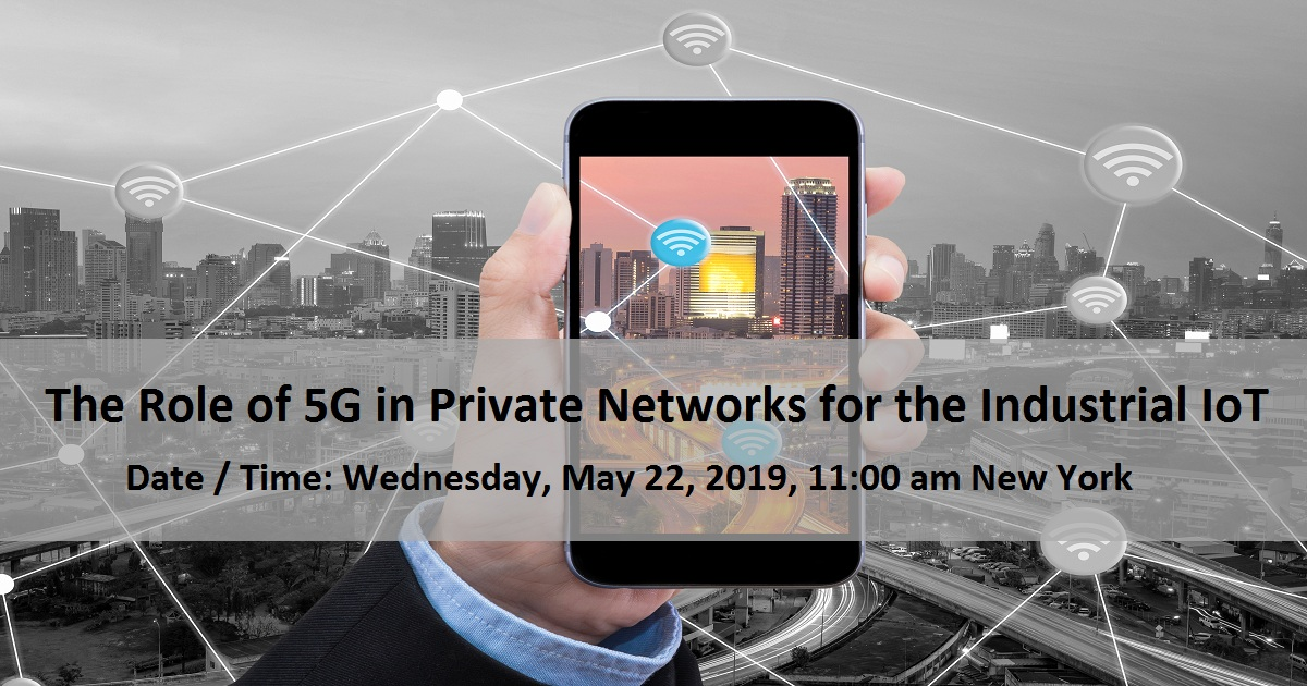 The Role of 5G in Private Networks for the Industrial IoT