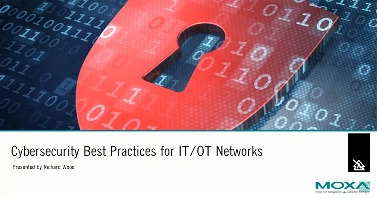 Cybersecurity Best Practices for IT/OT Networks