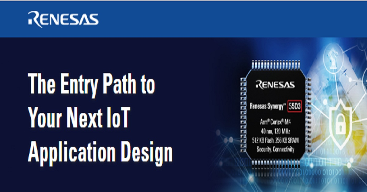 The Entry Path to Your Next IoT Application Design