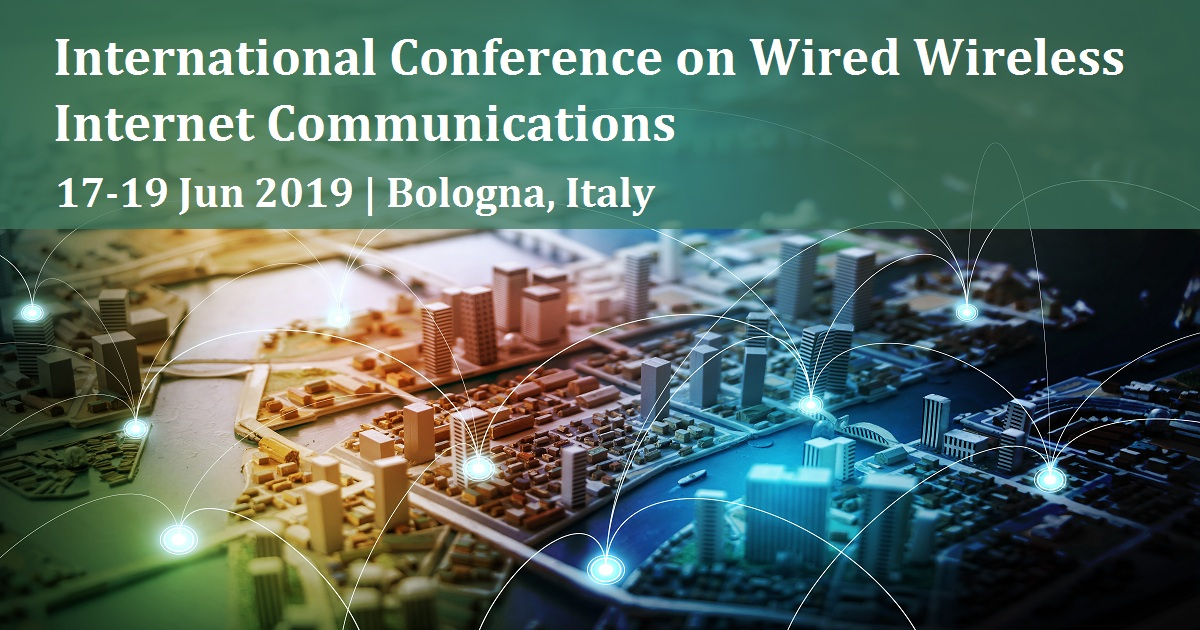 International Conference on Wired Wireless Internet Communications