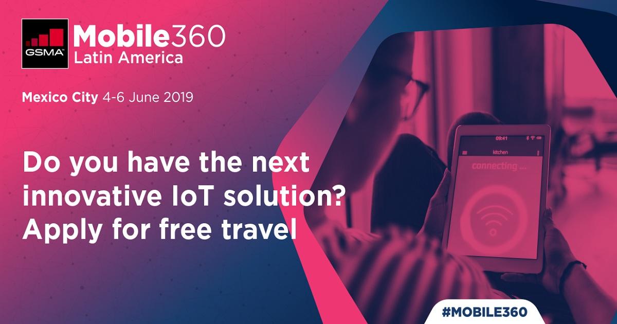 IoT Innovation at GSMA Mobile 360 – Latin America