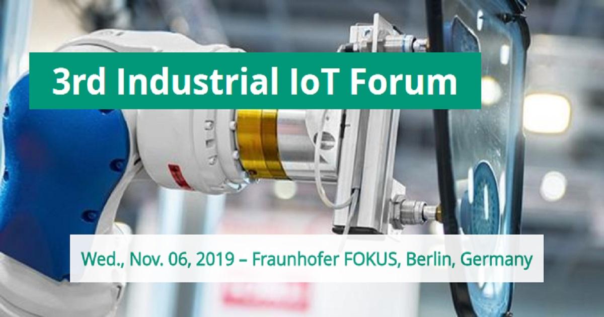 3rd Industrial IoT Forum