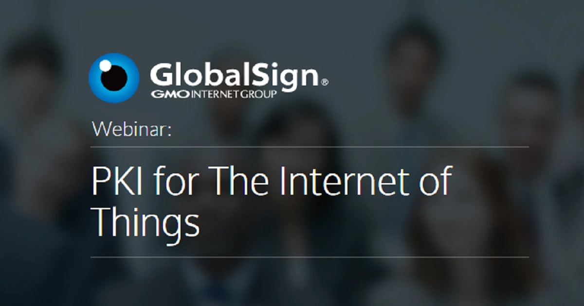 PKI for The Internet of Things