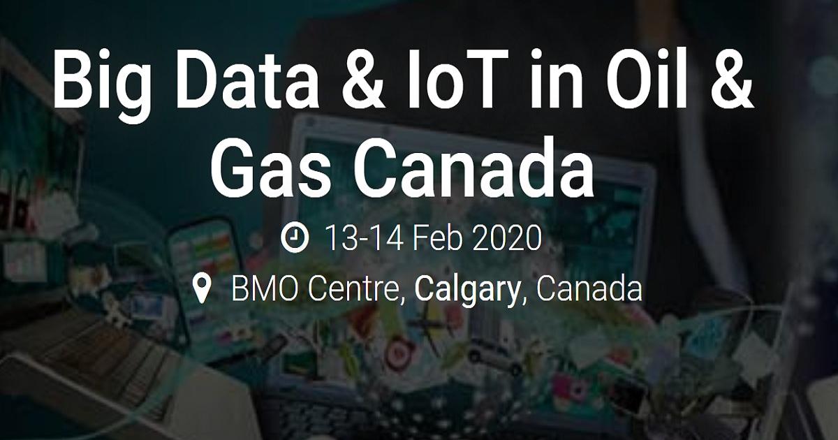 Big Data & IoT in Oil & Gas Canada