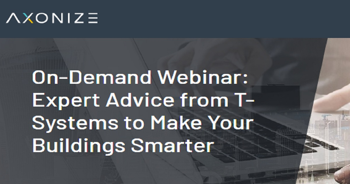 Expert Advice from T-Systems to Make Your Buildings Smarter