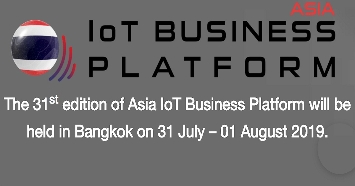 The 31st edition of Asia IoT Business Platform