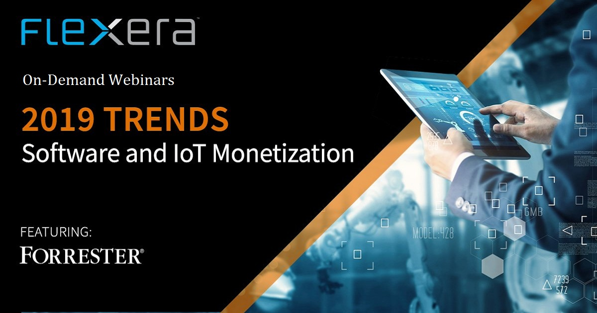 2019 Trends – Software and IoT Monetization