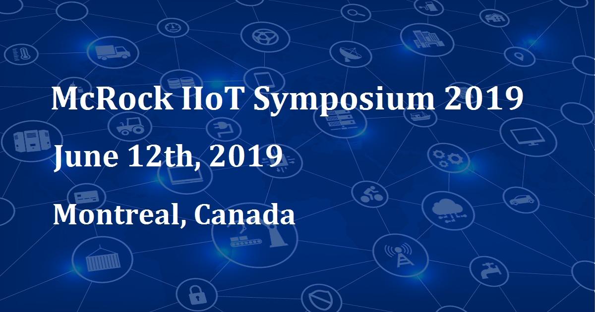 McRock IIoT Symposium 2019