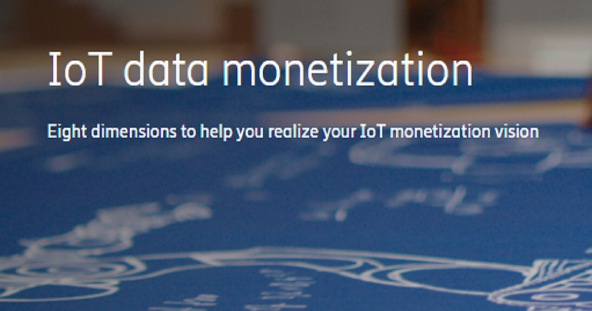 IOT DATA MONETIZATION WEBINAR