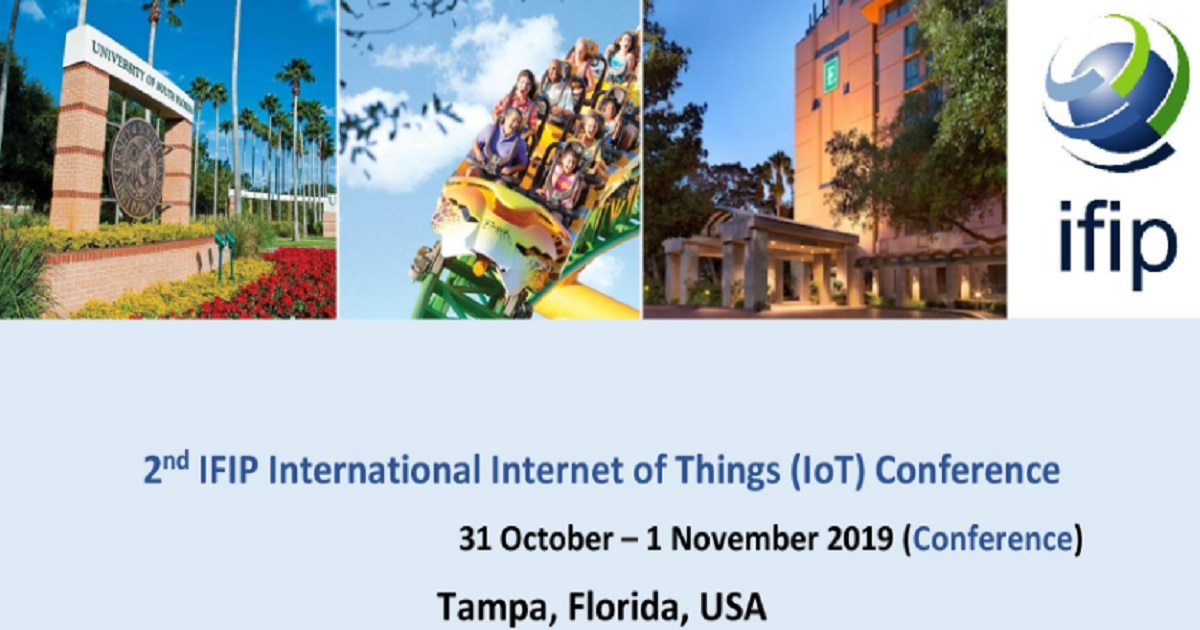 IFIP IoT 2019: IFIP Internet of Things 2019