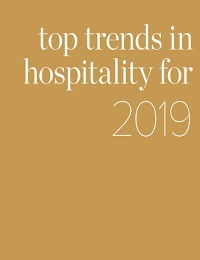 TOP TRENDS IN HOSPITALITY FOR 2019