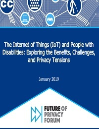 THE INTERNET OF THINGS AND PERSONS WITH DISABILITIES