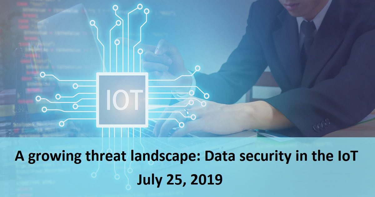 A growing threat landscape: Data security in the IoT