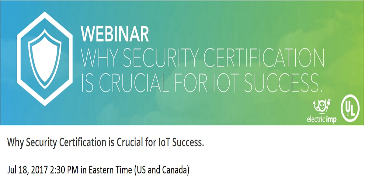 Why Security Certification is Crucial for IoT Success