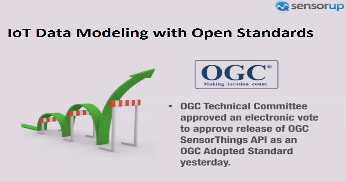 IoT Data Modeling with Open Standards
