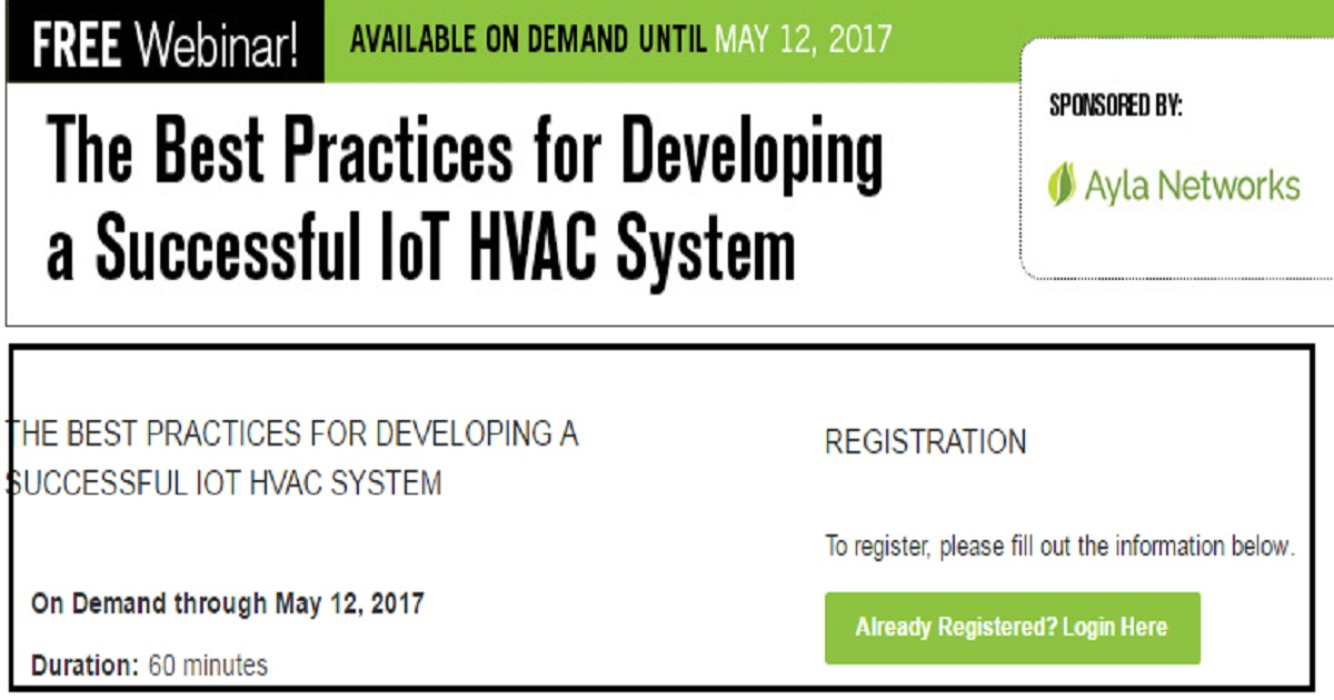 The Best Practices for Developing a Successful IoT HVAC System