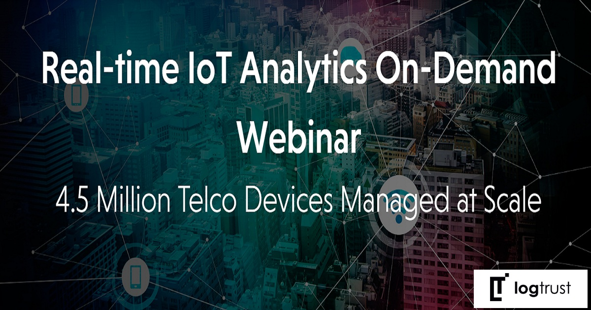 Real-time IoT Analytics On-Demand Webinar