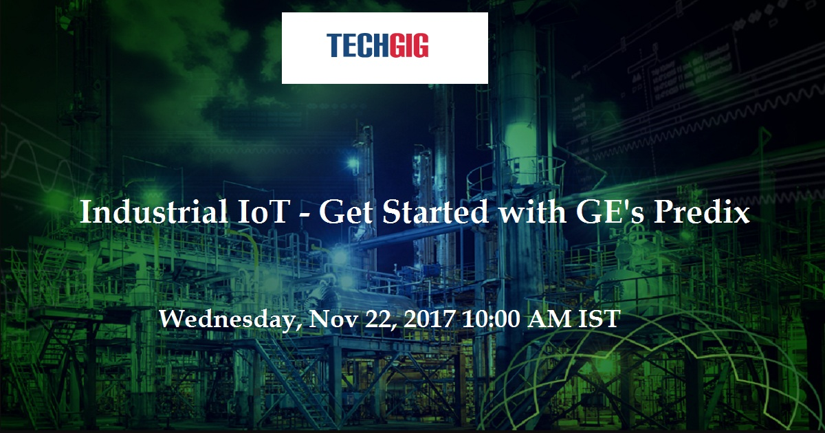Industrial IoT - Get Started with GE