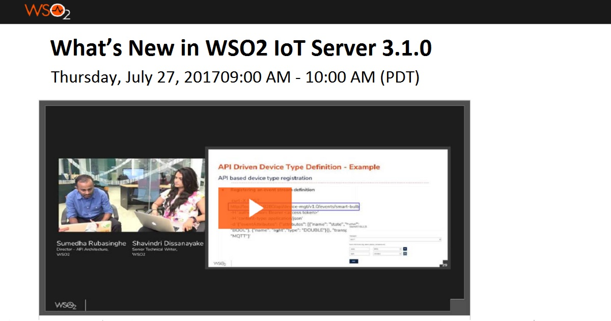 What's New in WSO2 IoT Server 3.1.0