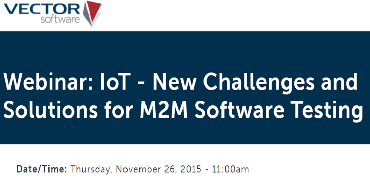 IoT - New Challenges and Solutions for M2M Software Testing