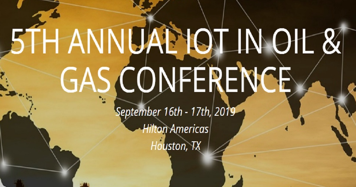 5TH ANNUAL IOT IN OIL & GAS CONFERENCE