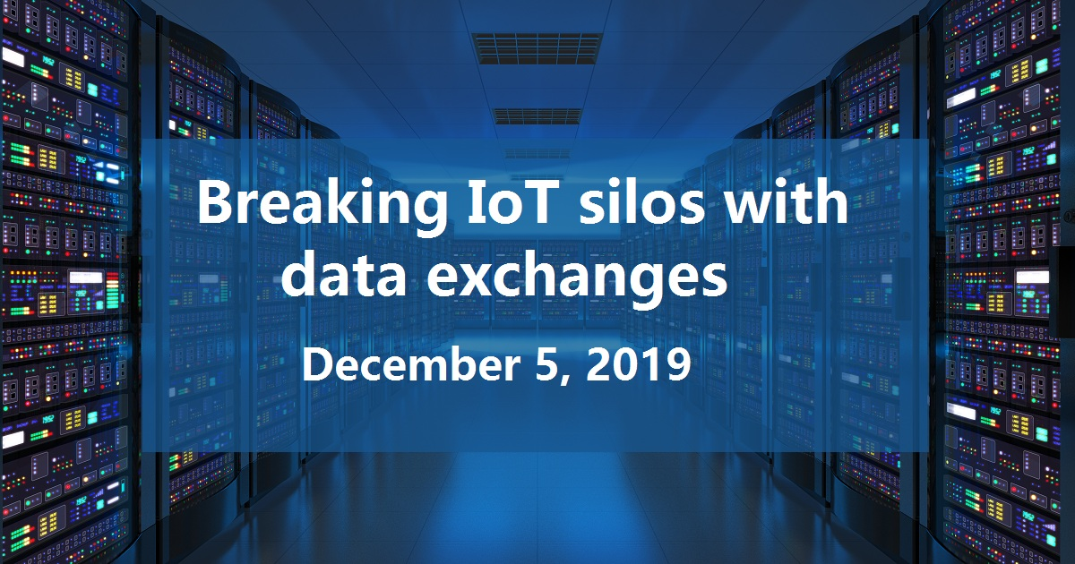 Breaking IoT silos with data exchanges