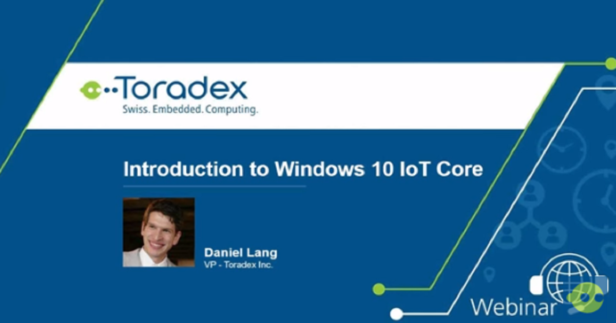 Introduction to Windows 10 IoT Core