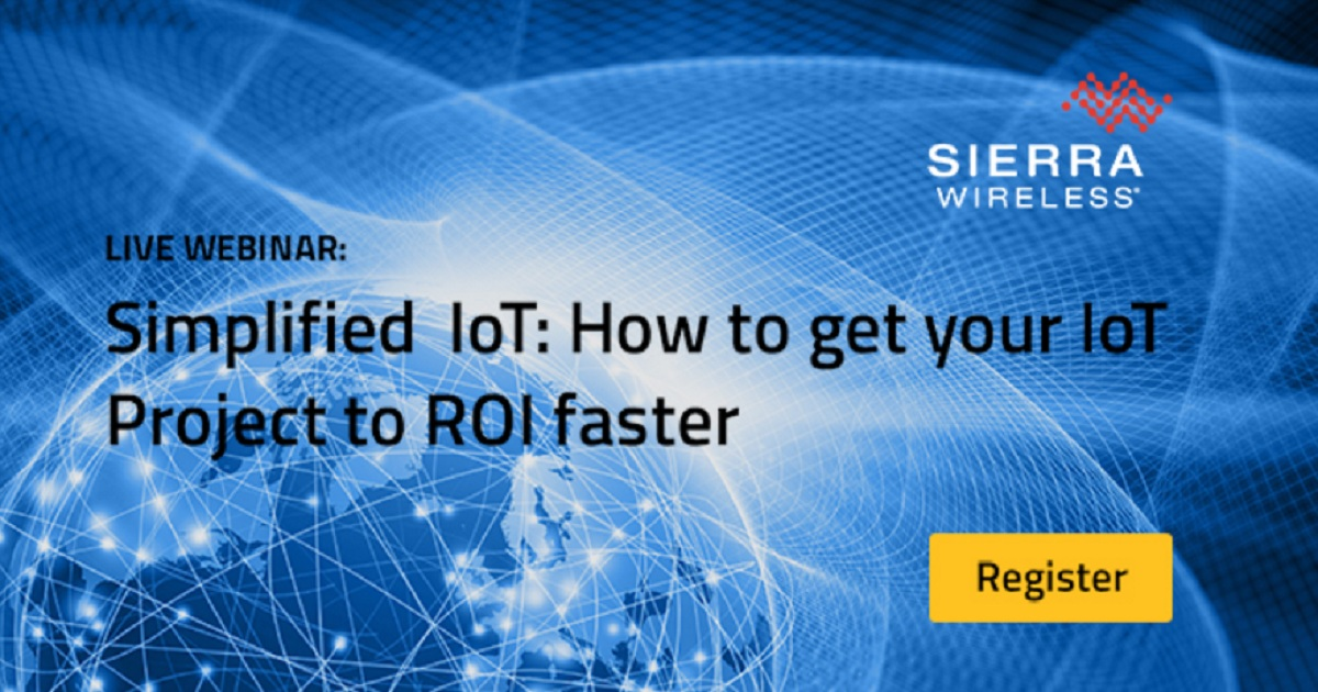Simplified IoT: How to get your IoT Project to ROI faster