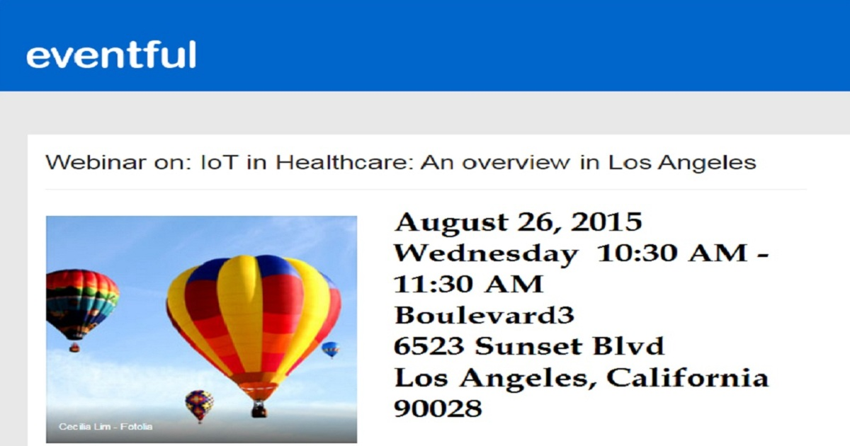 IoT in Healthcare: An overview in Los Angeles