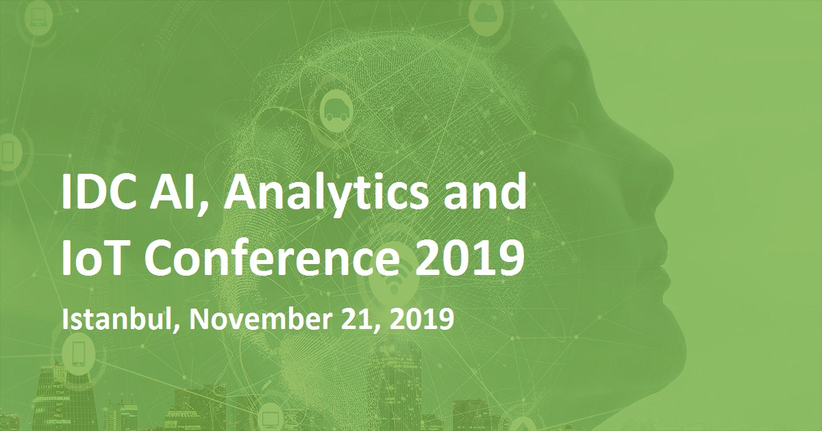 IDC AI, Analytics and IoT Conference 2019