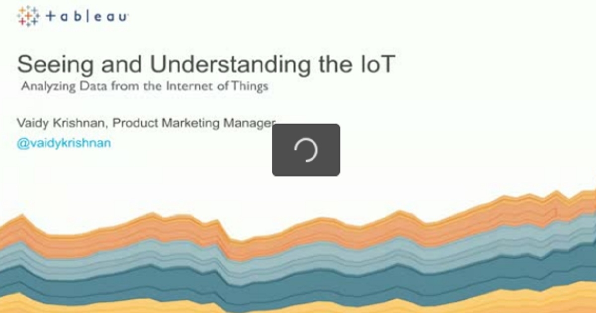 Analyzing Data from the Internet of Things