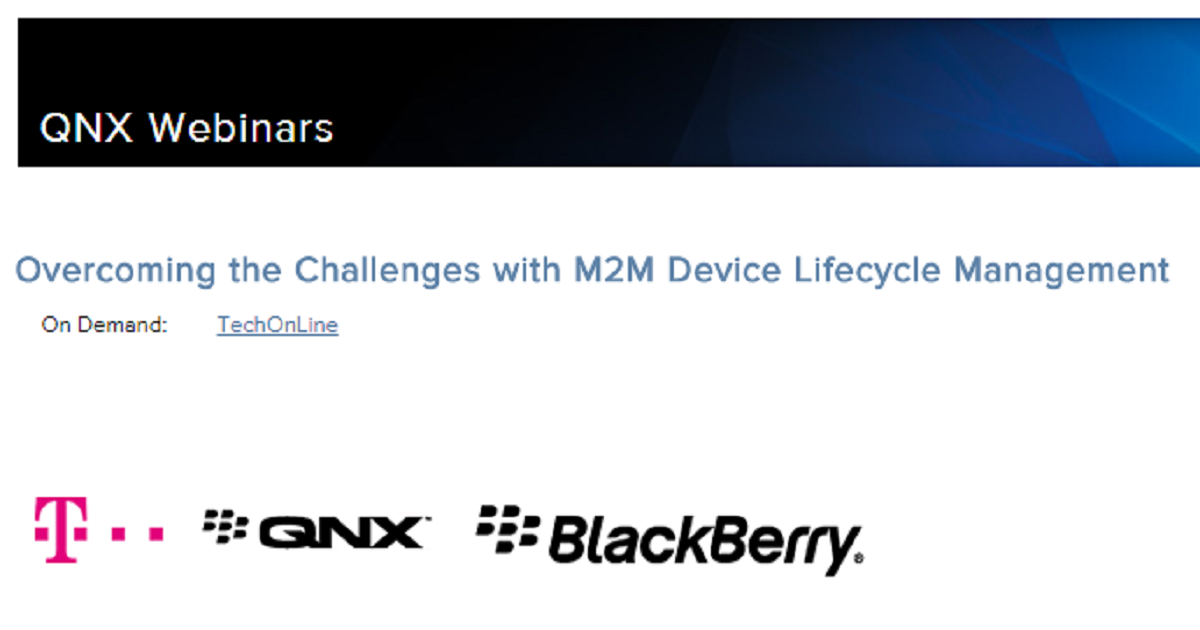 Overcoming the Challenges with M2M Device Lifecycle Management