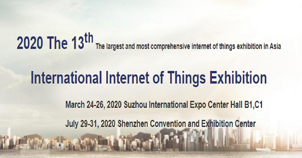 2020 The 13th International Internet of Things Exhibition
