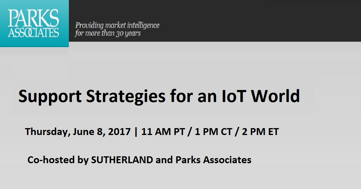 Support Strategies for an IoT World