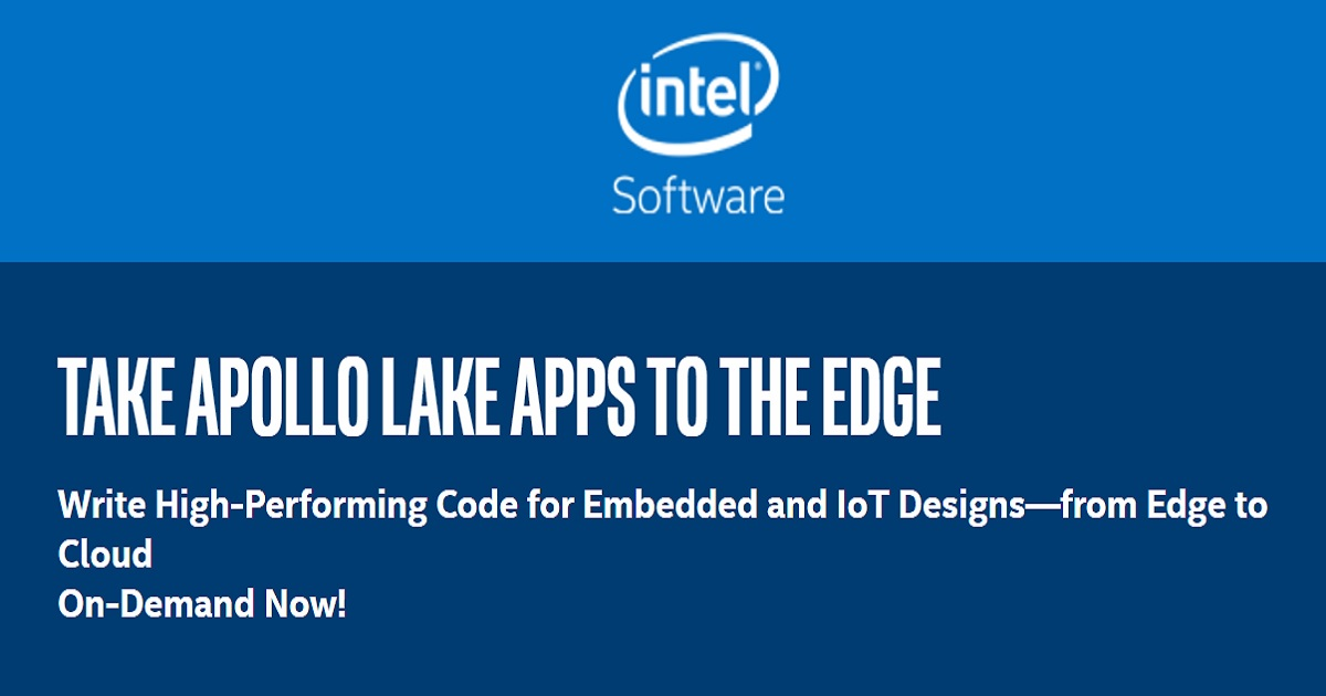 Take High-Performing IoT and Embedded Apps to the Edge