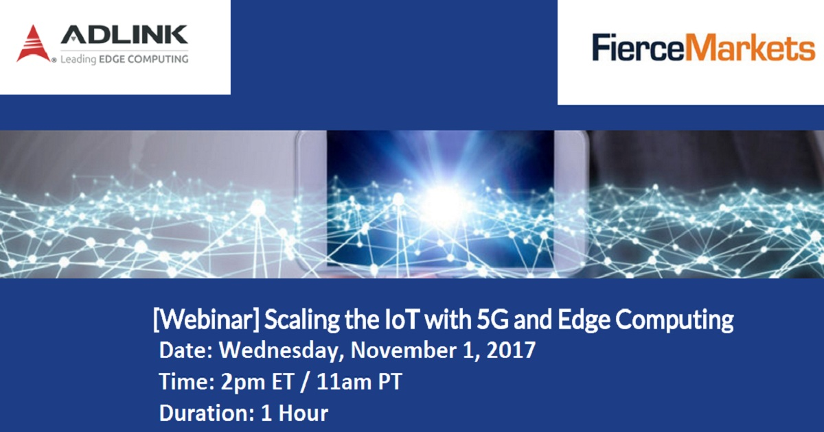 Scaling the IoT with 5G and Edge Computing