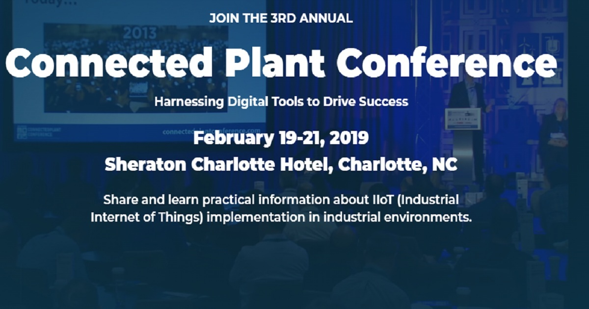3RD ANNUAL Connected Plant Conference