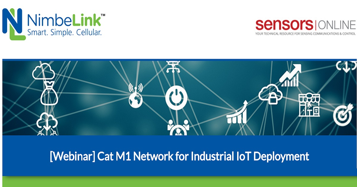Cat M1 Network for Industrial IoT Deployment