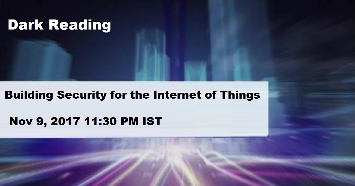 Building Security for the Internet of Things