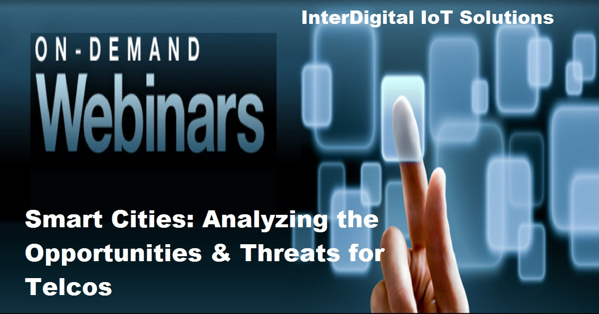 mart Cities: Analyzing the Opportunities & Threats for Telcos
